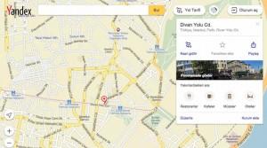Yandex Harita Yenilemesi