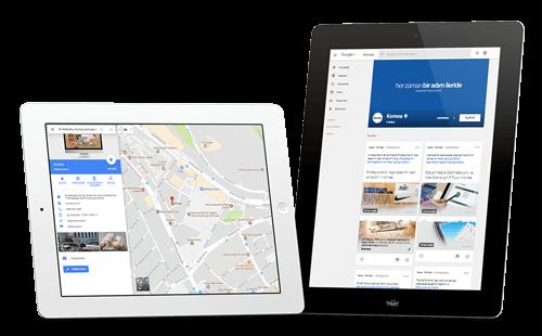 Google rehber, maps, haritalara kayıt