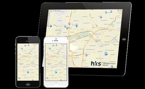 Yandex haritalara kayıt ipad iphone