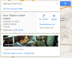 Google Haritaya İşyeri Ekleme