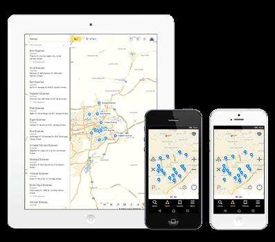 Cep Telefonu Haritalarına Kayıt