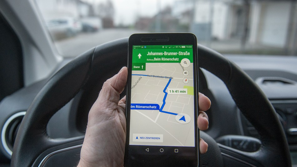 Google Haritalarda Park Yardımı