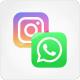 Instagram Whatsapp konum ekleme